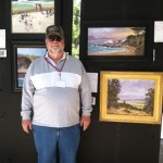 Yours truly at the Carmel Art Show