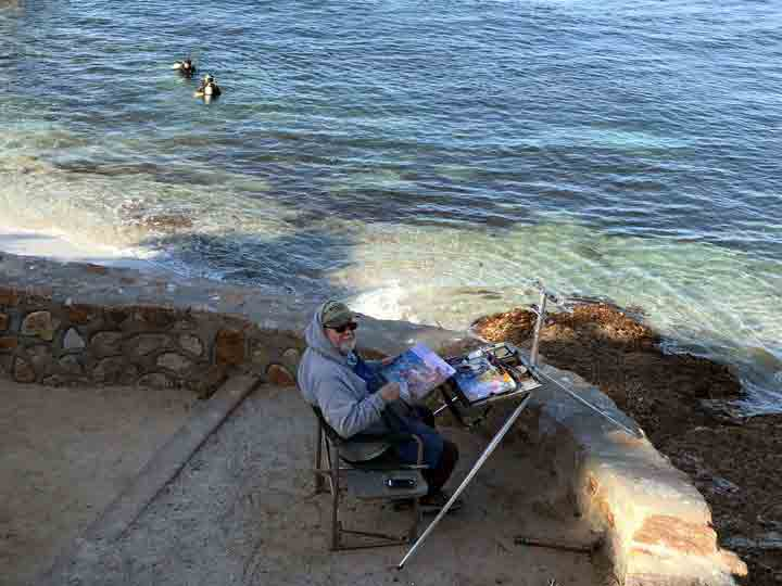 A wonderful place to paint!