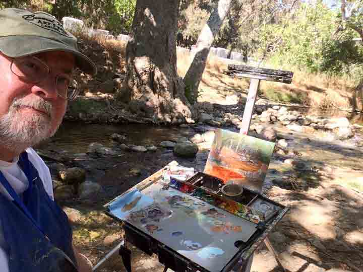 Selfie along Penitencia Creek